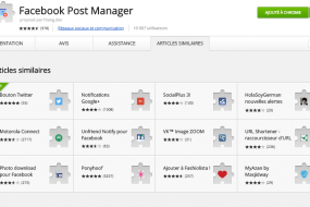 Facebook Posts Manager